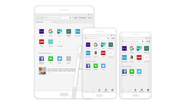 New Samsung Internet 4.0 browser