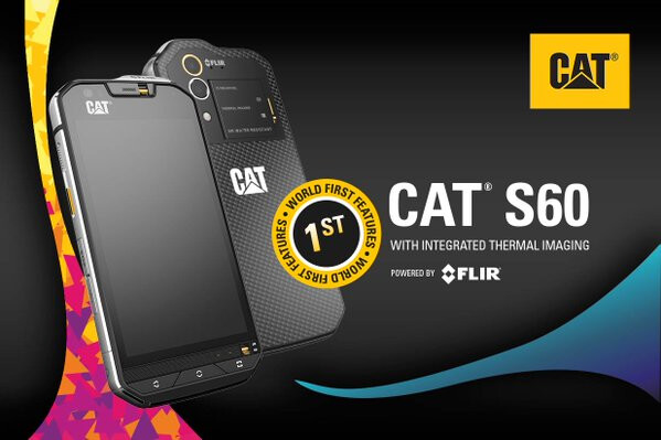 Predator, meet Cat S60, the world's first phone with thermal imaging camera