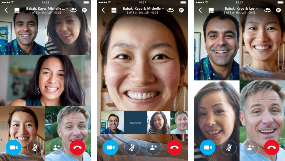Skype update for iOS adds native Office support, group video calling, and other goodies