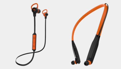 From left to right, the Verve Loop+ and Verve Rider+ headsets