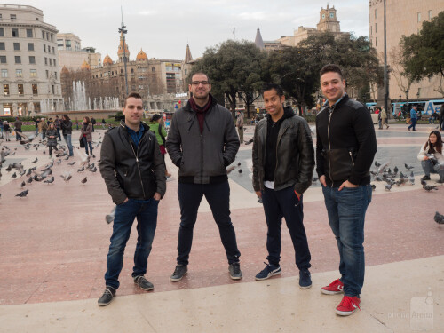 PhoneArena Team in Barcelona for MWC 2016