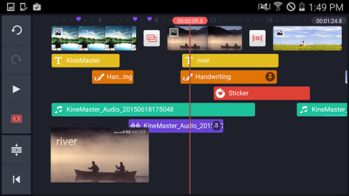 KineMaster video editing app for Android