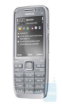 The Nokia E52 is able to deliver up to 8 hours of talk time - Nokia E52 keeps you online with its long battery life