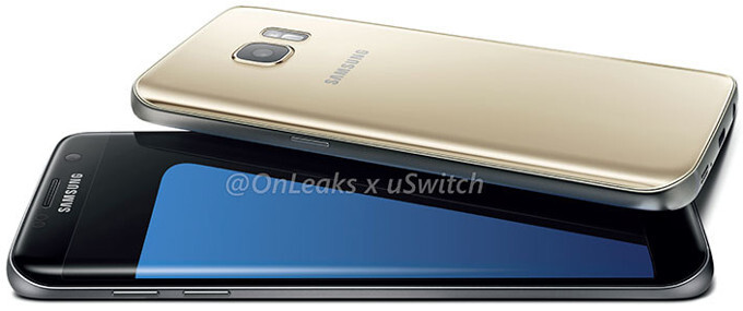 Check out the most detailed Galaxy S7 and S7 Edge press images so far