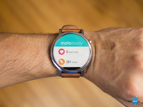Moto 360 extra features