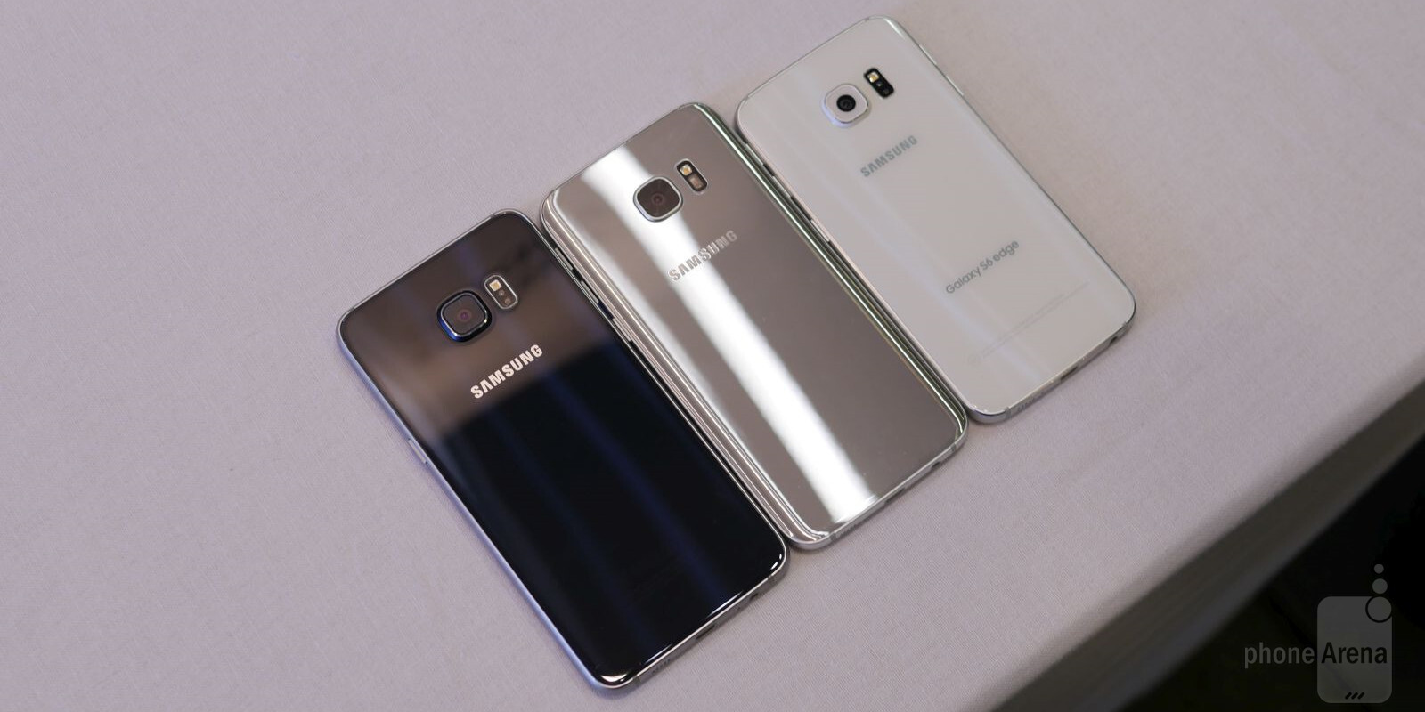 Samsung Galaxy S7 edge vs Samsung Galaxy S6 edge vs Samsung Galaxy S6 ...