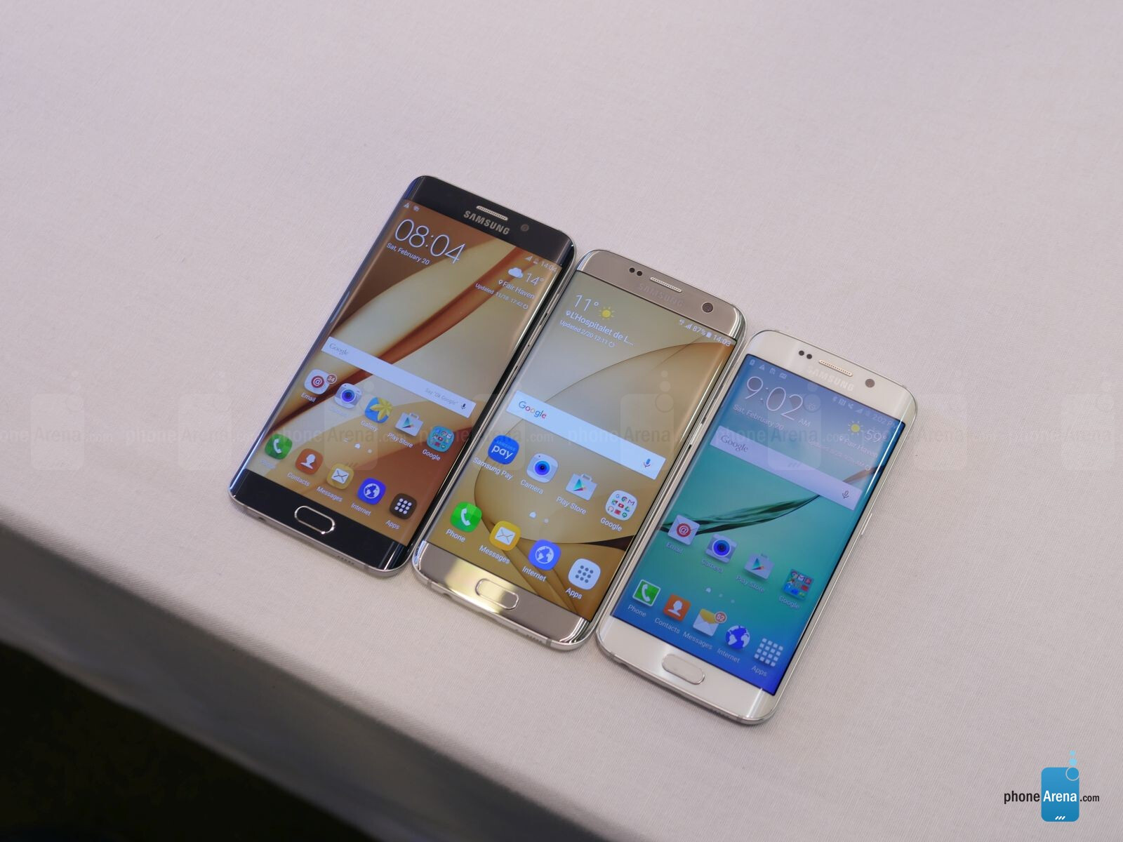 samsung galaxy s7 edge vs samsung galaxy s6 edge vs. Black Bedroom Furniture Sets. Home Design Ideas