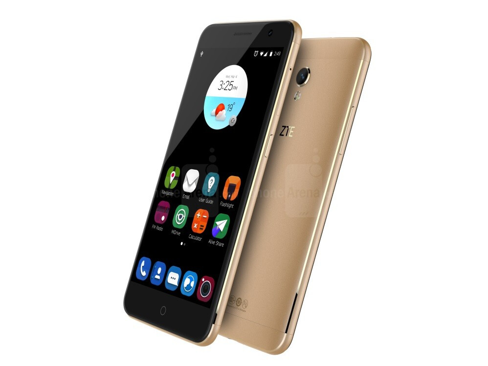 cell phone zte blade v7 lite tok thousands restricted apps