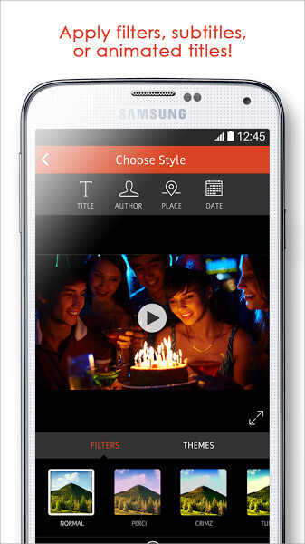 VideoShop video editing app for Android