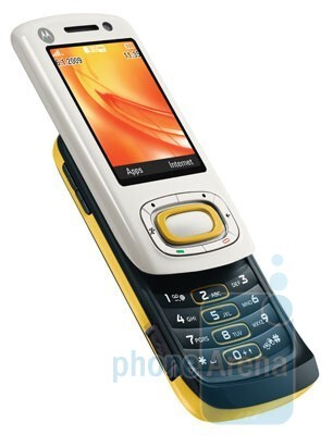 Motorola MOTO W7 Active Edition is equipped with a pedometer and an accelerometer