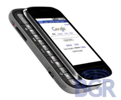 The first image of the G1 V2 showsMotorola-like keys - T-Mobile G1 V2 speculations