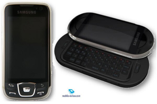 The Samsung Spica on the left and the Samsung BigFoot on the right - T-Mobile G1 V2 speculations