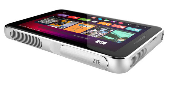 The ZTE Spro Plus is a laser-enabled mobile projector with formidable specs