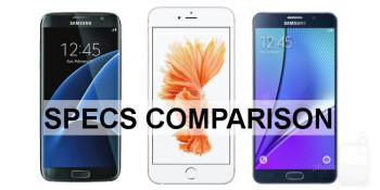 Galaxy s7 edge vs iphone 5c
