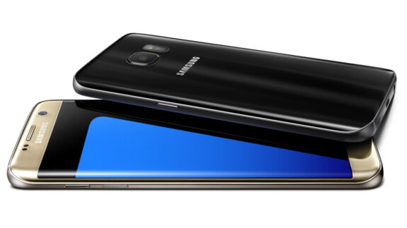 """Samsung goes all out with Galaxy S7 Edge: 5.5"""" curved phone with Edge superpowers and massive battery"""