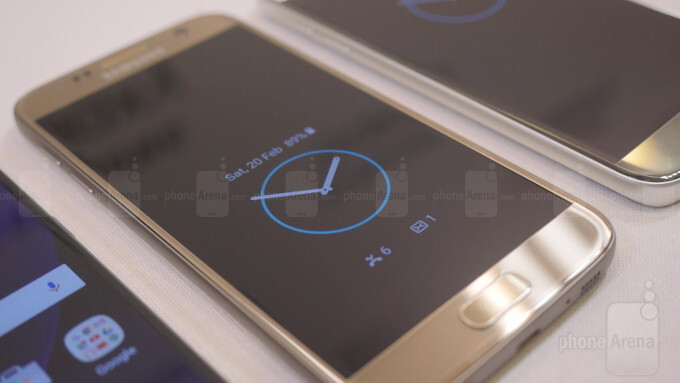 Always on display feature on the Galaxy S7 - TouchWiz on the Samsung Galaxy S7 and S7 edge: here's a quick look