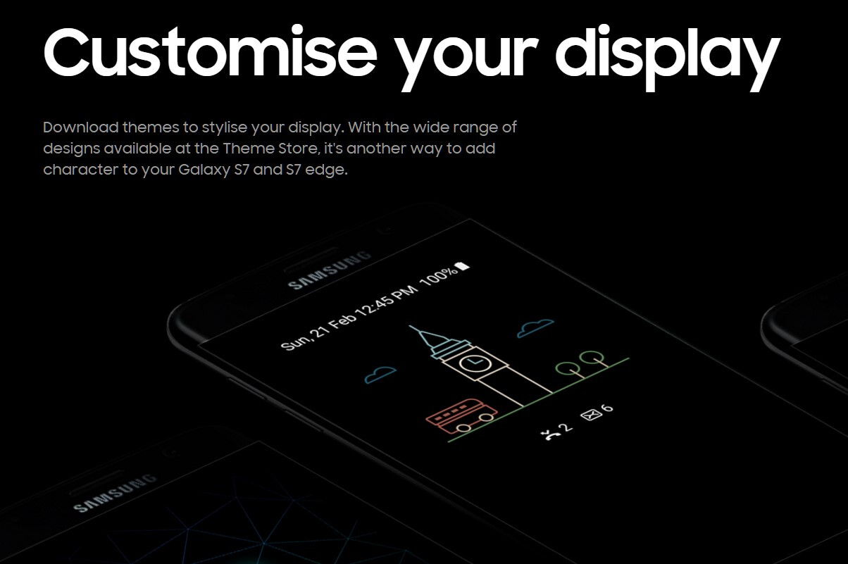 Samsung Galaxy S7 Vulcan
