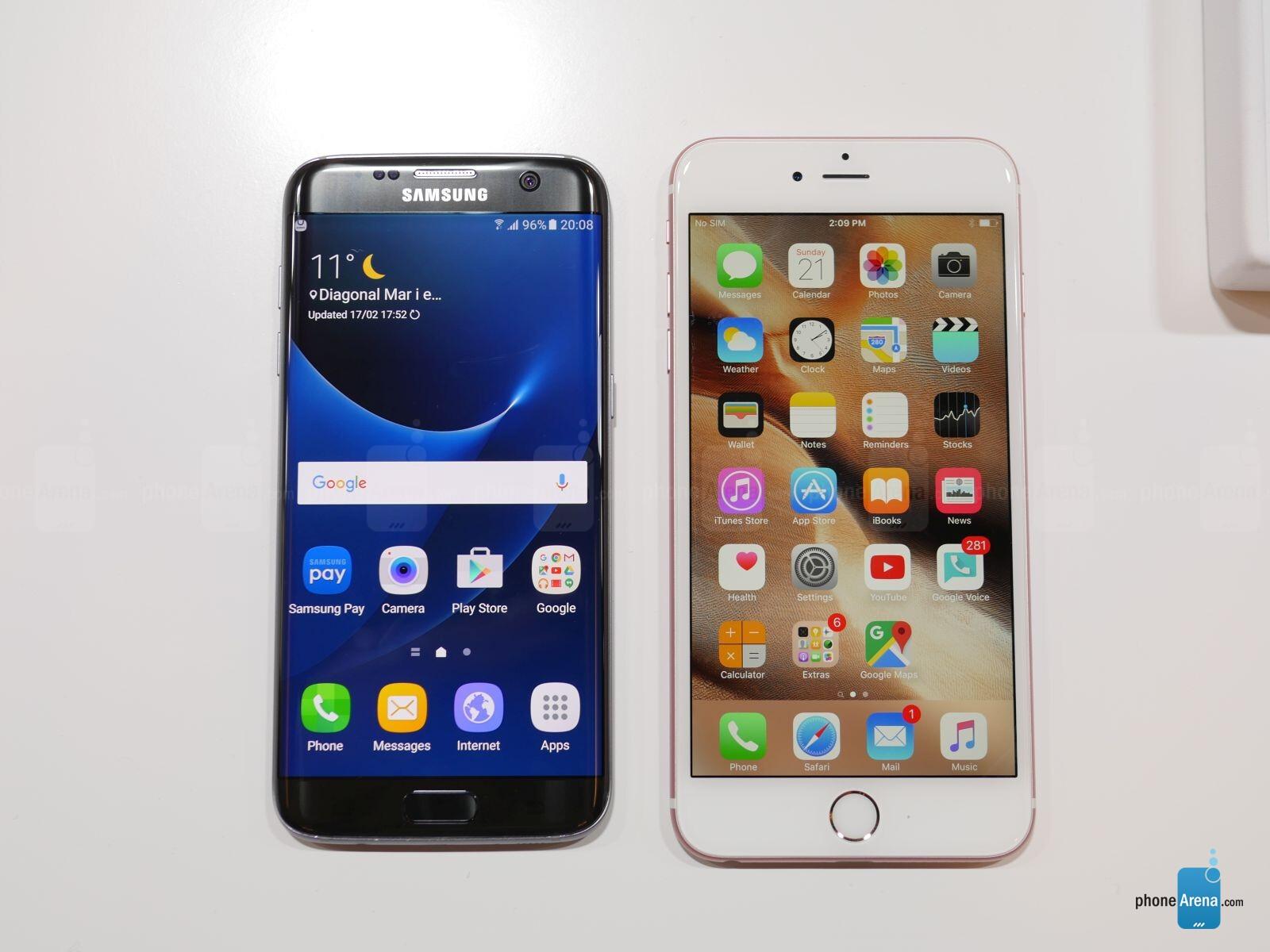IPHONE 6S VS GALAXY S7 EDGE SPECS