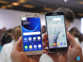 Samsung Galaxy S7 vs Galaxy S6: first look