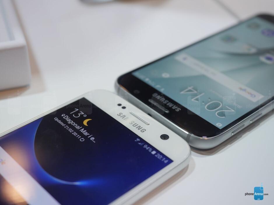Samsung Galaxy S7 vs Galaxy S6: first look