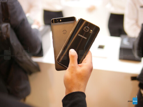 Samsung Galaxy S7 edge vs Google Nexus 6P