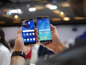 Samsung Galaxy S7 edge vs Samsung Galaxy Note 5: first look