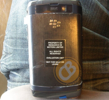 First look at the BlackBerry Storm 2?