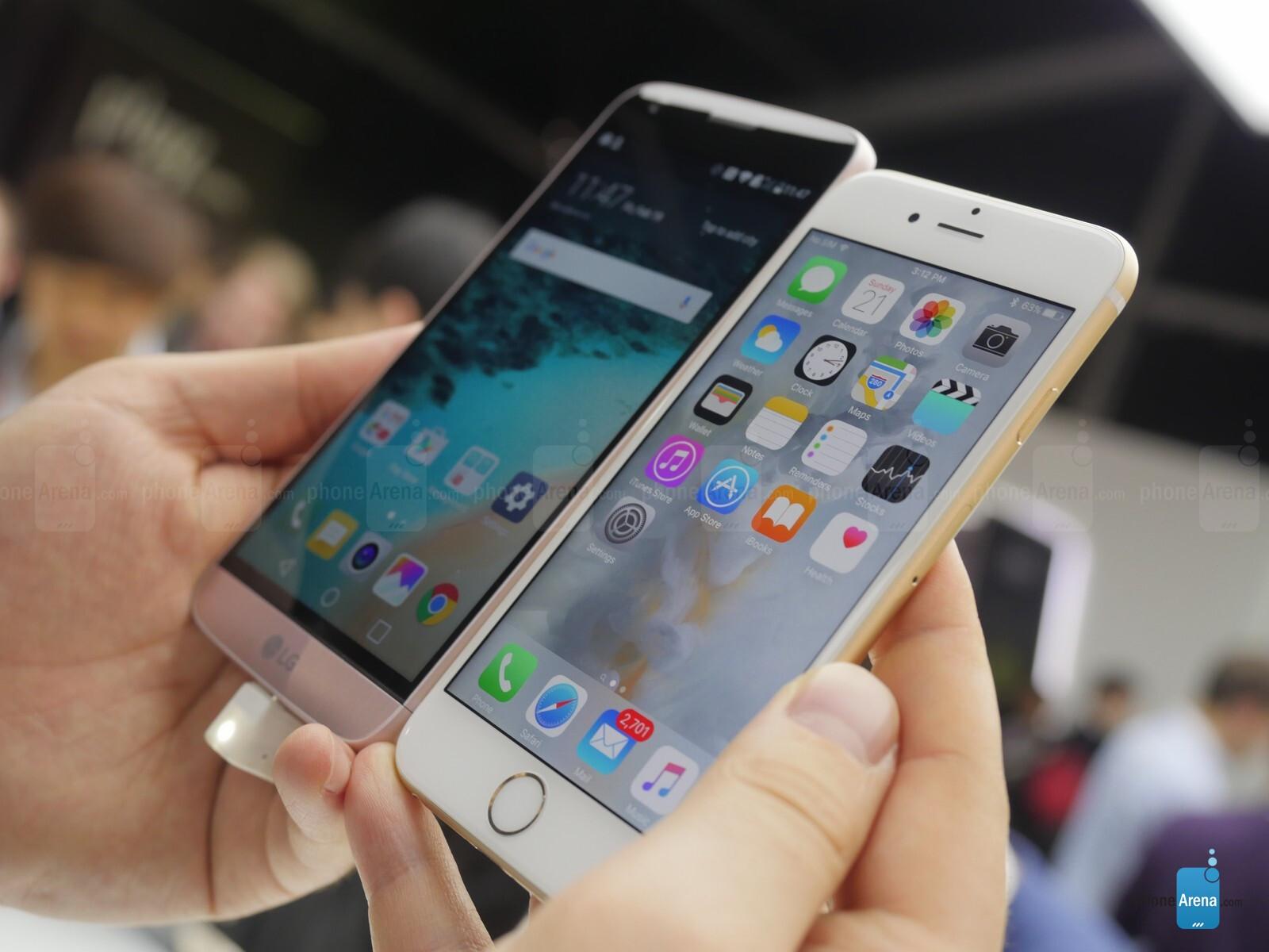 iphone 6 vs 6s phonearena