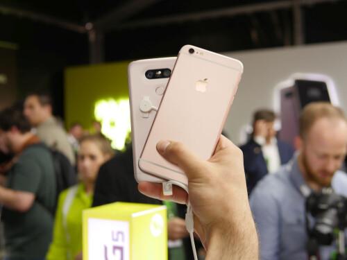 LG G5 vs Apple iPhone 6s Plus