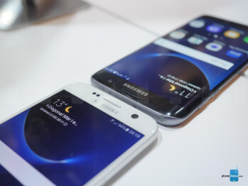 Samsung Galaxy S7 vs S7 Edge: first look