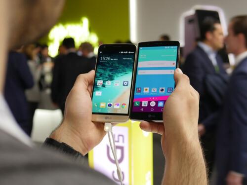LG G5 vs LG G4