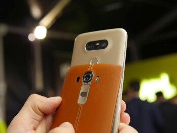 LG G5 vs LG G4: first look