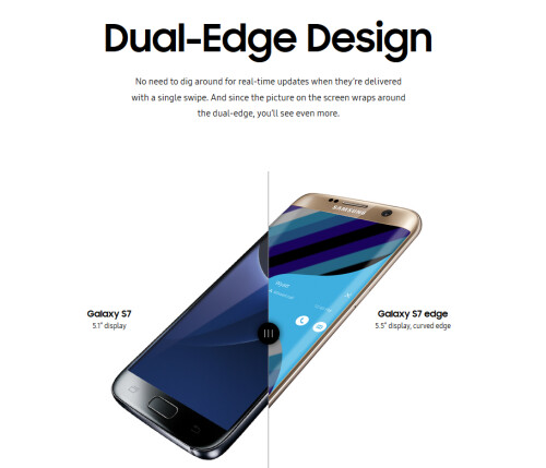 Pre-sales for the Samsung Galaxy S7 and Samsung Galaxy S7 edge start February 23rd from U.S. Cellular