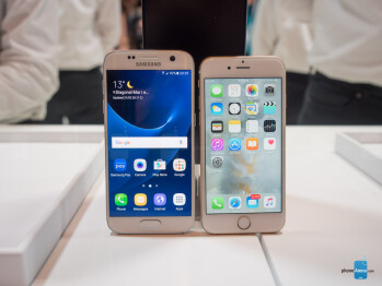 Samsung Galaxy S7 vs iPhone 6s: first look