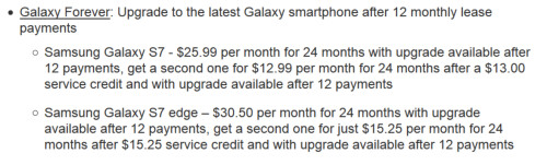 Sprint will allow you to lease a new Galaxy S handset every year