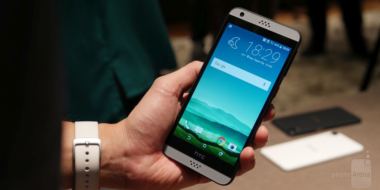 HTC Desire 530 u0026 630 hands-on : PhoneArena reviews