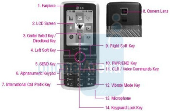 New images of the LG enV Touch and Glance