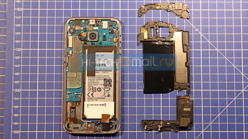 Samsung Galaxy S7 teardown reveals the liquid cooling system
