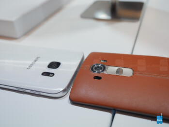 Samsung Galaxy S7 vs LG G4: first look
