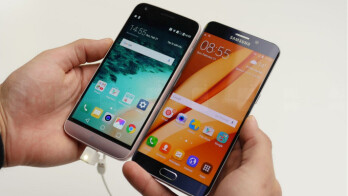LG G5 vs Samsung Galaxy S6 edge+: first look