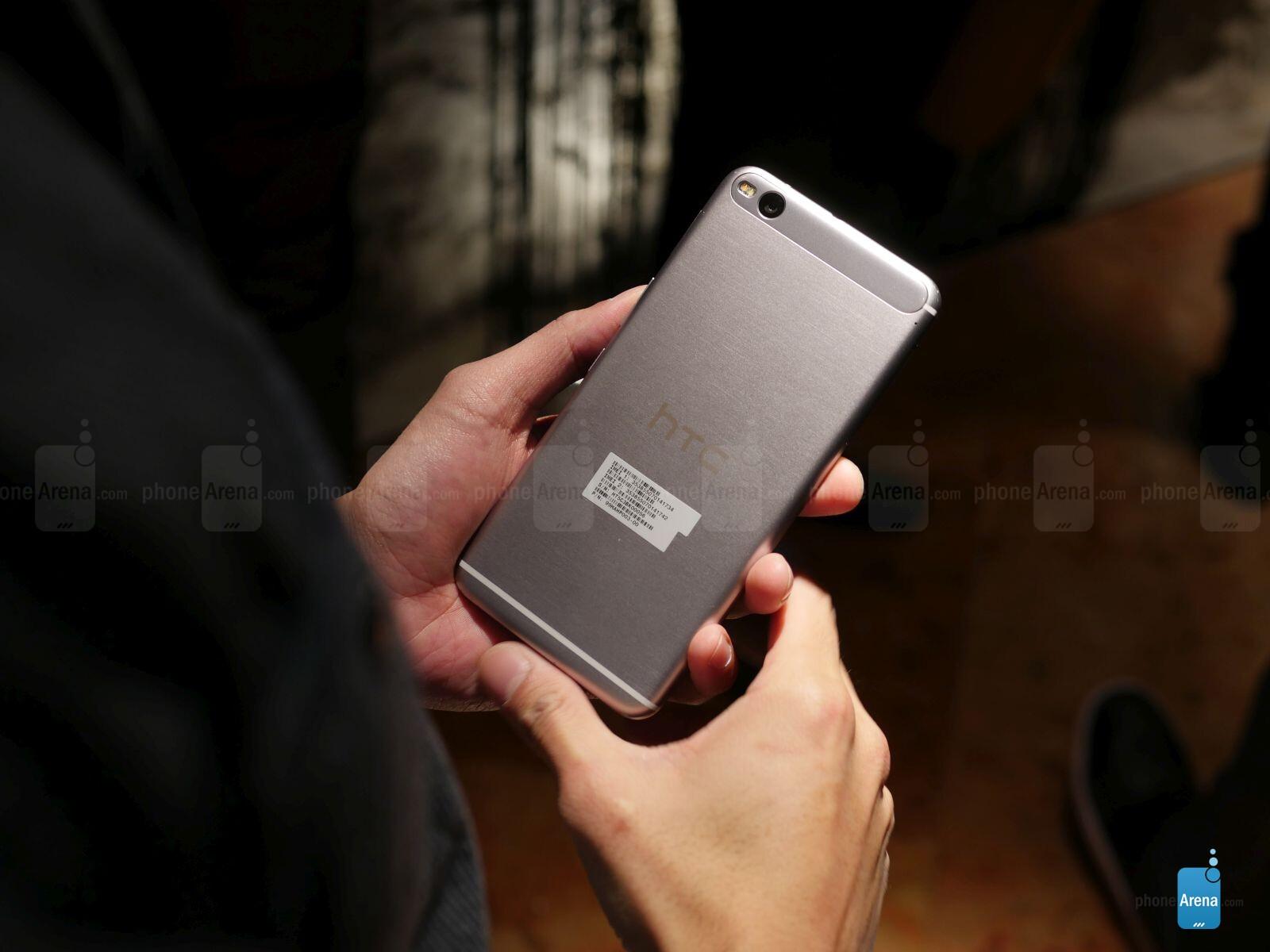 new concept b00b0 5bb8e HTC One X9 hands-on | PhoneArena reviews - PhoneArena