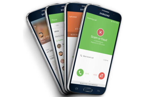 The Samsung Galaxy S7 series will be protected against spam callers