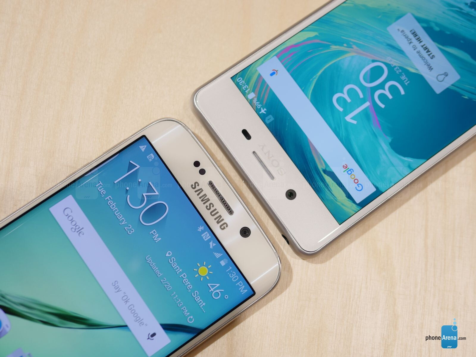 Sony Xperia X Performance vs Samsung Galaxy S6 edge: first look