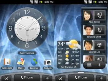 Video of HTC Hero shows new Android look