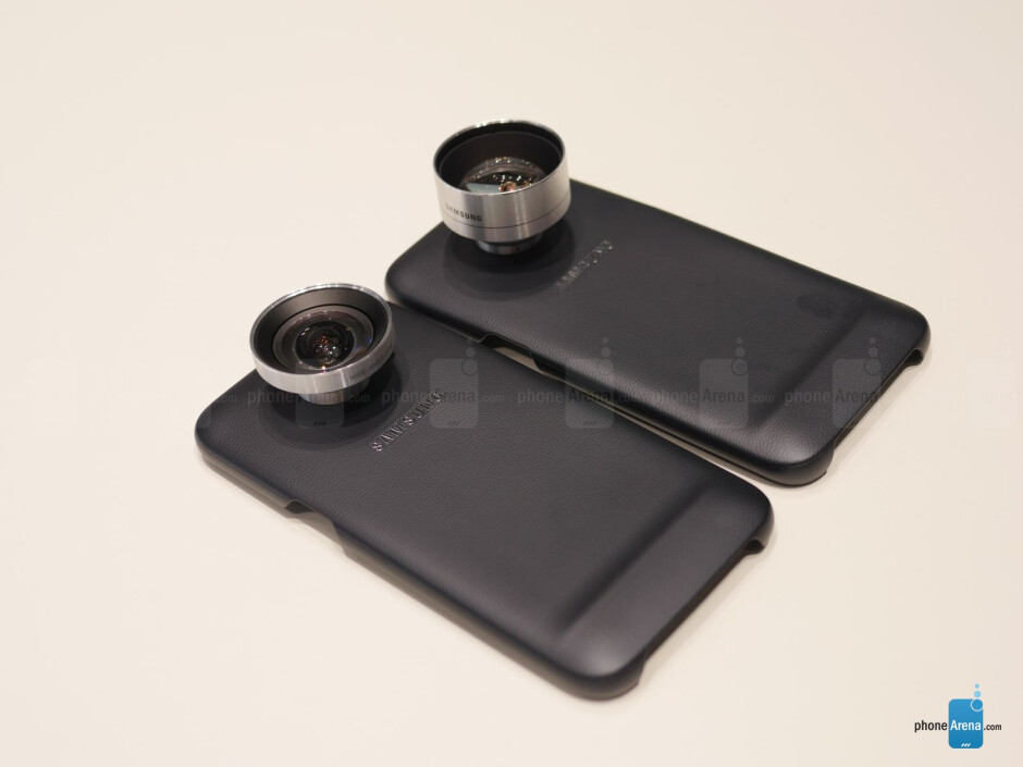 Camera Lens cases for Samsung Galaxy S7/S7 edge hands-on