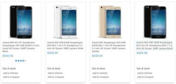 Specs for the Xiaomi Mi 5 and Xiaomi Mi 5 Plus leak online