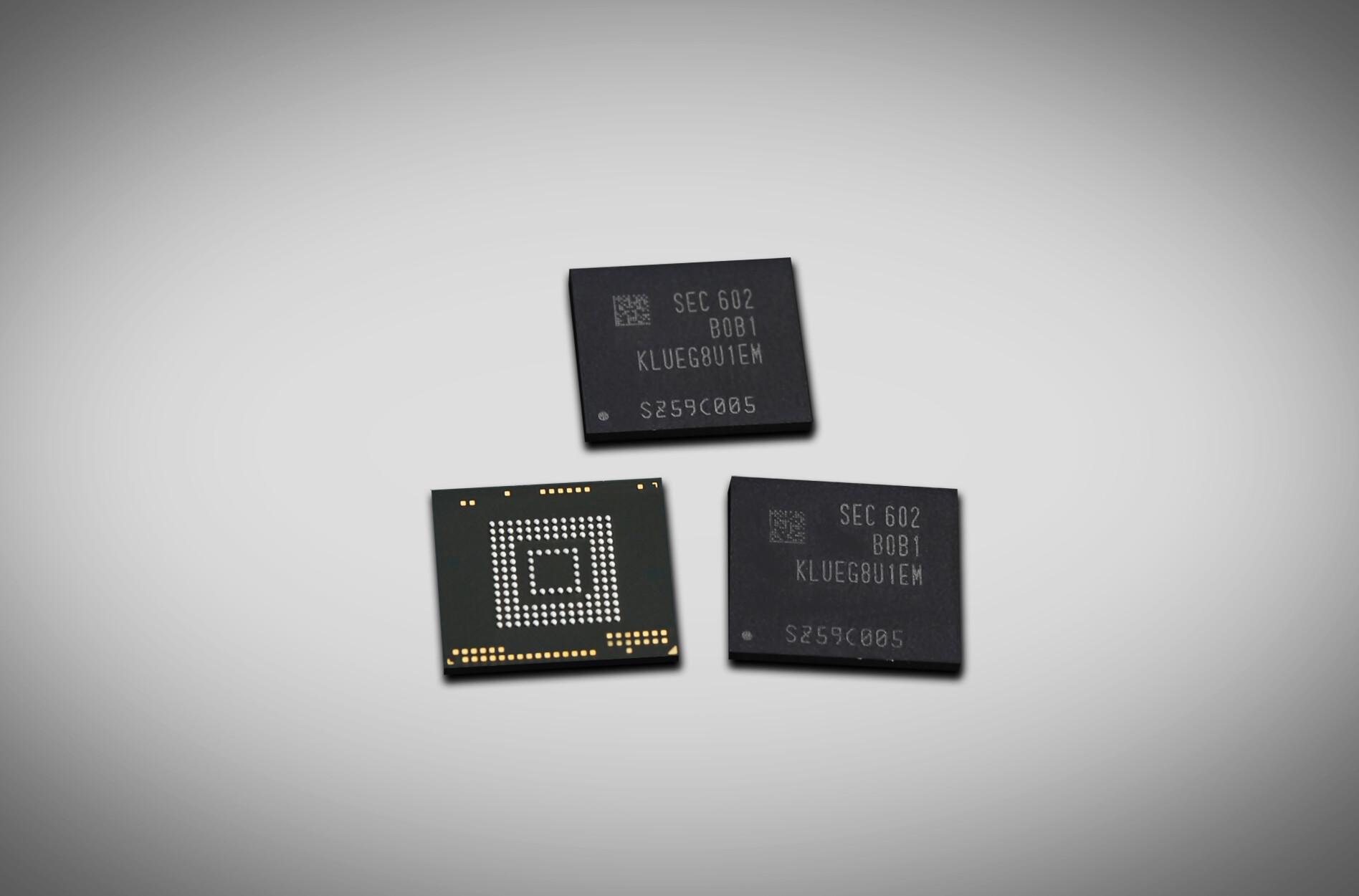 Samsung introduces blazing-fast 256GB UFS 2.0 memory chip ...