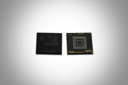Samsung's new 256GB UFS 2.0 memory chip is here