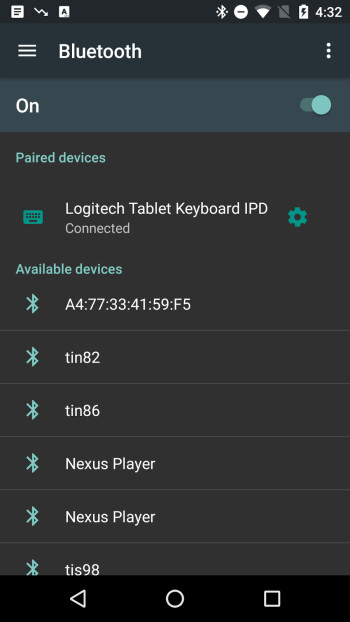 Alleged Android N screenshot reveals hamburger menu in the settings app