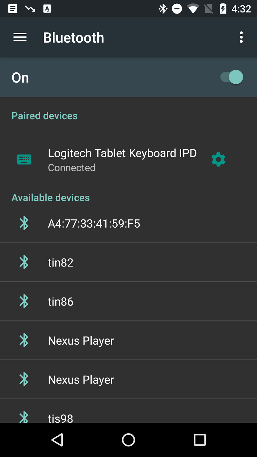 Alleged Android N screenshot reveals hamburger menu in the settings